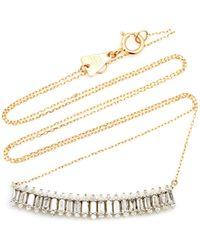 Adina Reyter Large Stack 14k Yellow Gold Diamond Necklace