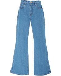 ei8ht dreams - High Waisted Wide Flare Jean - Lyst