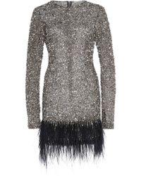 Rachel Gilbert - Nisha Mini Sequin Dress - Lyst