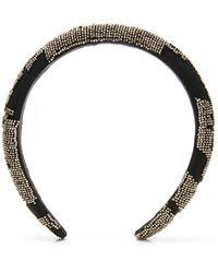 Mignonne Gavigan Ikat Headband - Black