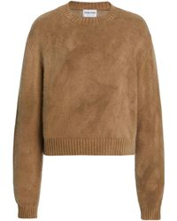 Cotton Citizen Lima Cashmere-cotton Jumper - Brown