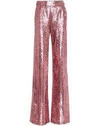 Prabal Gurung - Wide Leg Sequin Trouser - Lyst