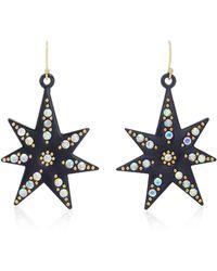 Lulu Frost - Orana Gold-plated Crystal Star Earrings - Lyst
