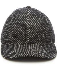 e15d1835094 Lyst - Burberry Crest Baseball Cap in Black for Men
