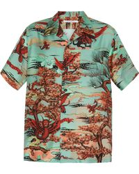 Givenchy - Mystical Creatures Print Shirt - Lyst