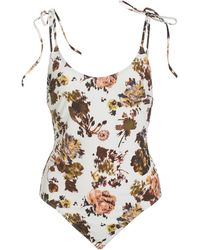 Ulla Johnson Adhara Maillot Bouquet Printed One-piece Swimsuit - Multicolor