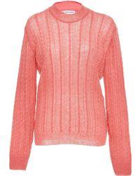 Nanna van Blaaderen Summer Cable Sweater - Pink