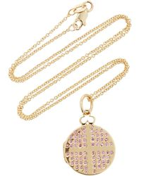 Devon Woodhill Dee 18k Gold And Sapphire Necklace - Yellow