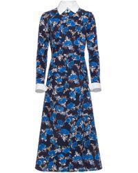 Dalood - Mid Length Shirt Dress - Lyst