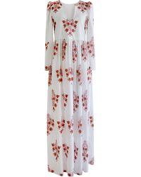 Alix Of Bohemia Savannah Dahlia Print Dress - Multicolour