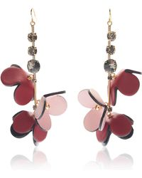 Marni Earrings with spheres and flowers KdIMGl