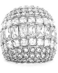 Peter Do Crystal Dome Ring - Metallic