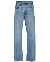 Brock Collection Wright High-rise Straight-leg Jeans - Blue