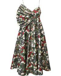 ANOUKI - Multicolor Flower Print Dress - Lyst