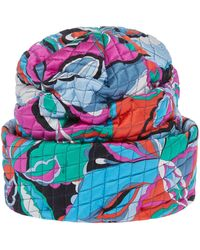Emilio Pucci | Printed Quilted Hat | Lyst