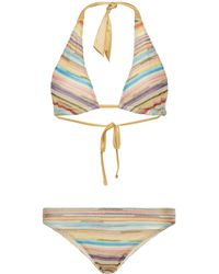 Missoni - Striped Bikini Set - Lyst