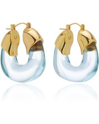 Lizzie Fortunato Organic Acrylic Hoops - Blue