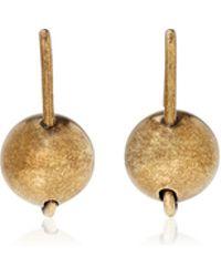 Tomas Maier - Sphere Drop Earrings - Lyst