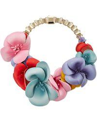Elie Saab - Blossom Flower Choker - Lyst