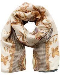 Pierre Louis Mascia Sciarpa Doppiata Silk-blend Scarf - Multicolour