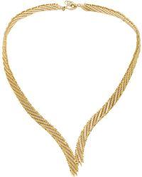 Rosantica - Voluttá Gold-tone Brass Necklace - Lyst