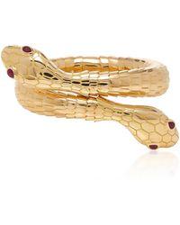 Sidney Garber - 18k Yellow Gold Il Serpente Bracelet - Lyst