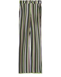 Kenneth Ize Striped Knit Wide-leg Trousers - Multicolour
