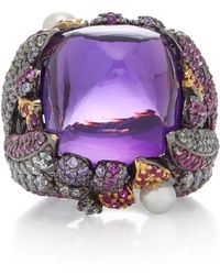 Anabela Chan - Sugarloaf Berry 18k Gold Vermeil Multi-stone Ring - Lyst