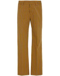 Burberry - Turnpike Plaid Trousers - Lyst