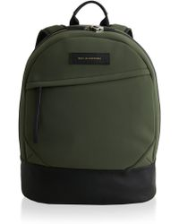 Want Les Essentiels De La Vie - Kastrup Leather-trimmed Backpack - Lyst