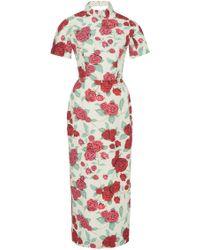 Emilia Wickstead M'o Exclusive Edith Floral Cocktail Dress - Multicolour