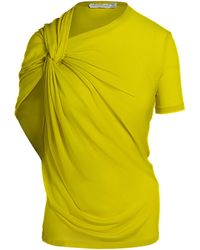 Unttld Livia Jersey Top - Yellow