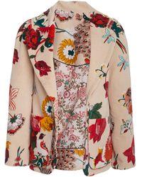 Alix Of Bohemia Hardy Winter Garden Velvet Blazer - Multicolour