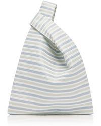 Hayward - Striped Silk Mini Shopper - Lyst