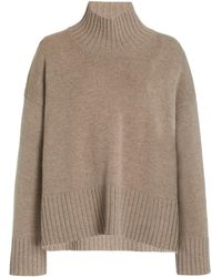 Co. Wool-cashmere Turtleneck Jumper - Multicolour