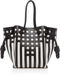 Loewe - Flamenco Two-tone Leather Tote - Lyst