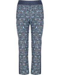 Genny - Side Panel Crop Pant - Lyst