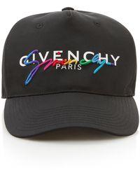 Givenchy Printed Shell Baseball Cap - Black