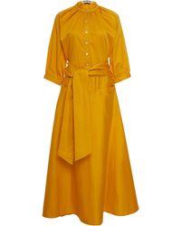 Acheval Pampa Argentina Cotton Dress - Yellow