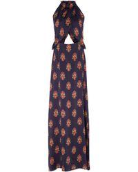 Seren London Soiree Maxi Dress - Blue