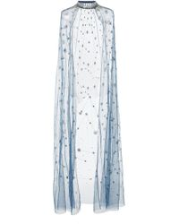 Cucculelli Shaheen Constellation Cape - Blue