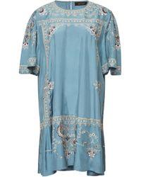 Isabel Marant - Dryna Embroidered Silk Dress - Lyst