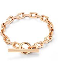 WALTERS FAITH Saxon 18k Rose Gold Bracelet - Pink