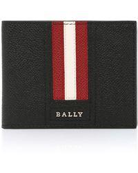 Bally Tevye Leather Wallet - Black