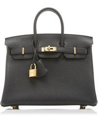 Hermès Hermès 35cm Black Togo Leather Birkin