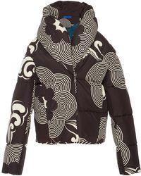 Marit Ilison - Printed Puffer Jacket - Lyst