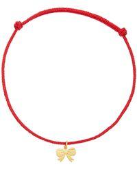 Marie-hélène De Taillac 22k Gold Charm Bracelet - Red