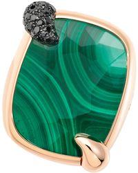 Pomellato - Ritratto Malachite Ring - Lyst