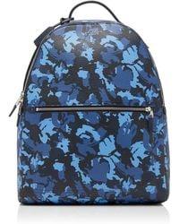 Smythson - Burlington Camouflage Leather Backpack - Lyst