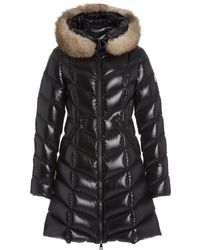 Moncler - Fulmarus Hooded Fur-trimmed Down Puffer Coat - Lyst